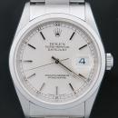 Rolex(로렉스) 16200 OYSTER PERPETUAL(오이스터 퍼페츄얼) DATE JUST(데이트 저스트) 화이트판 로마 인덱스 스틸 남성용시계 [인천점]