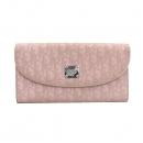 Dior(크리스챤디올) 디오르시모 연핑크 컬러 패브릭 장지갑 [부산센텀본점]