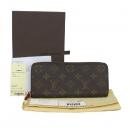 Louis Vuitton(루이비통) M60742 모노그램 캔버스 푸시아 클레망스 지피 월릿 장지갑 [대구반월당본점]