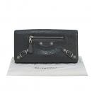 Balenciaga(발렌시아가) 233599 그레이 레더 자이언트 은장 장지갑 [대구반월당본점]