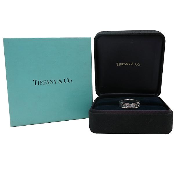 Tiffany(티파니) 티파니 18K(750) 화이트골드 3포인트 다이아 아틀라스 반지 [인천점]