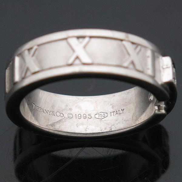 Tiffany(티파니) 티파니 18K(750) 화이트골드 3포인트 다이아 아틀라스 반지 [인천점] 이미지4 - 고이비토 중고명품