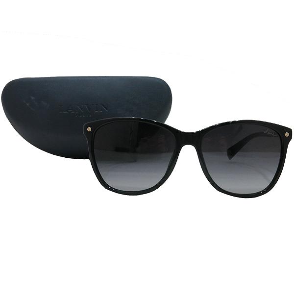 LANVIN(랑방) SLN621G 골드 포인트 블랙 뿔테 선글라스 [인천점]