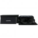 Chanel(샤넬) 5171A 화이트 리본 장식 블랙 선글라스 [인천점]