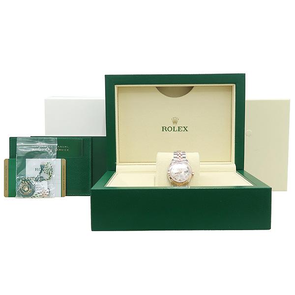 Rolex(로렉스) 279171 18K 핑크 골드 콤비 신형 DATE JUST(데이저스트) 28MM 여성용 시계 [강남본점]