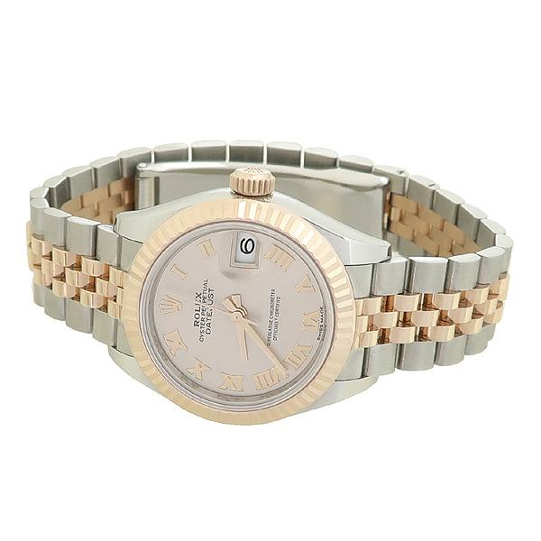 Rolex(로렉스) 279171 18K 핑크 골드 콤비 신형 DATE JUST(데이저스트) 28MM 여성용 시계 [강남본점] 이미지2 - 고이비토 중고명품