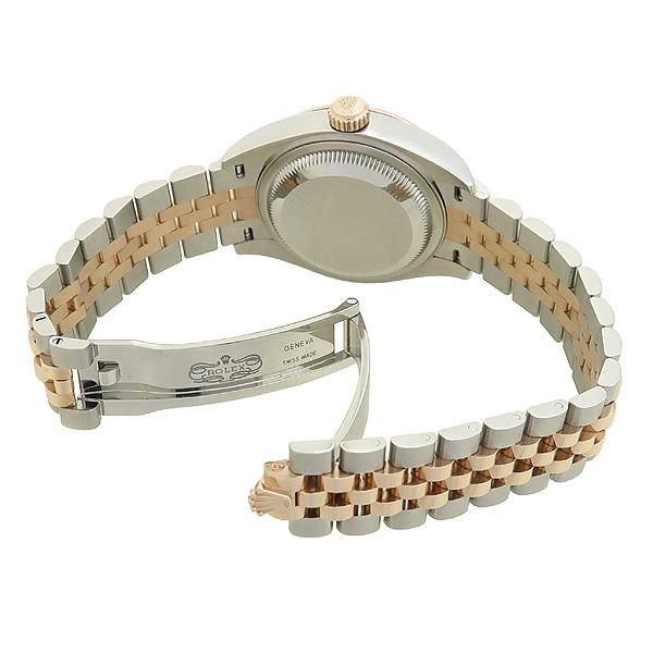 Rolex(로렉스) 279171 18K 핑크 골드 콤비 신형 DATE JUST(데이저스트) 28MM 여성용 시계 [강남본점] 이미지3 - 고이비토 중고명품