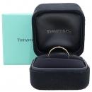 Tiffany(티파니) 18K (750) 핑크 골드 Tiffany&Co 라운드 로고 브릴리언트 3 포인트 다이아 4MM 반지 - 23호 [강남본점]