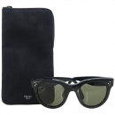 Celine(셀린느) CL 41053 블랙 컬러 측면 금장 로고 장식 뿔테 선글라스 [강남본점]