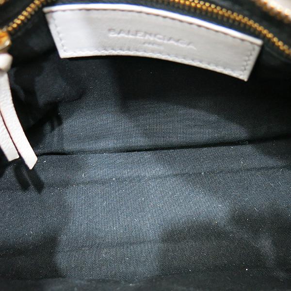 Balenciaga(발렌시아가) 390160 클래식 엣지 그레이 미니 시티 모터백 + 숄더스트랩 [인천점] 이미지6 - 고이비토 중고명품