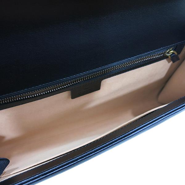 Gucci(구찌) 498079 블랙 레더 마몬트 마틀라세 클러치 [인천점] 이미지6 - 고이비토 중고명품