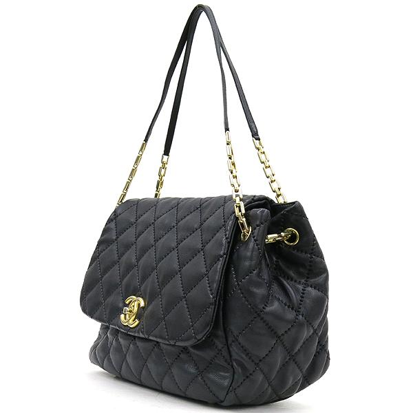 Chanel(샤넬) 캐비어 스킨 블랙 컬러 와일드 스티치 플랩 숄더백 [강남본점] 이미지3 - 고이비토 중고명품
