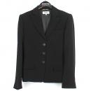 Armani(아르마니) MANI 블랙 컬러 실크 혼방 3버튼 여성용 자켓 [강남본점]