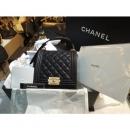 Chanel(샤넬) 26번대 캐비어 금장 엔틱 뉴보이 숄더&크로스 백[부산남포점]