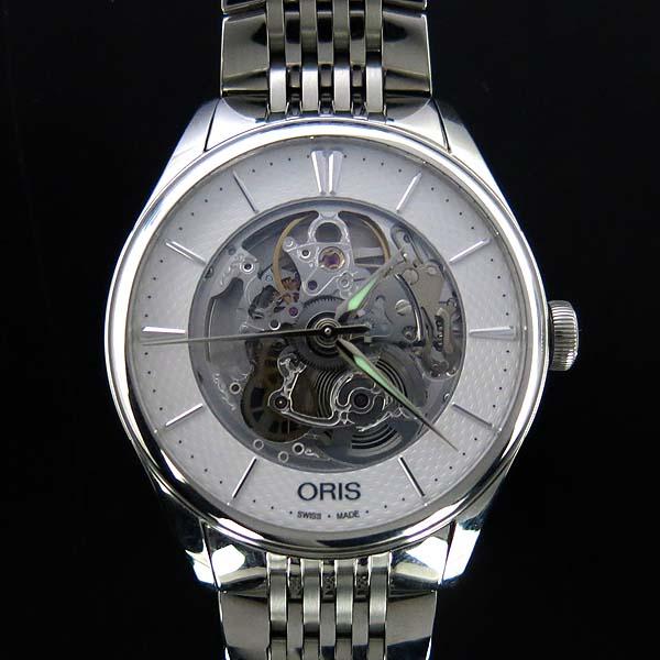 ORIS(오리스) 734 7721 ARTELIER(아뜰리에) 40MM 스켈레톤 오토매틱 스틸 남성용 시계 [동대문점] 이미지2 - 고이비토 중고명품