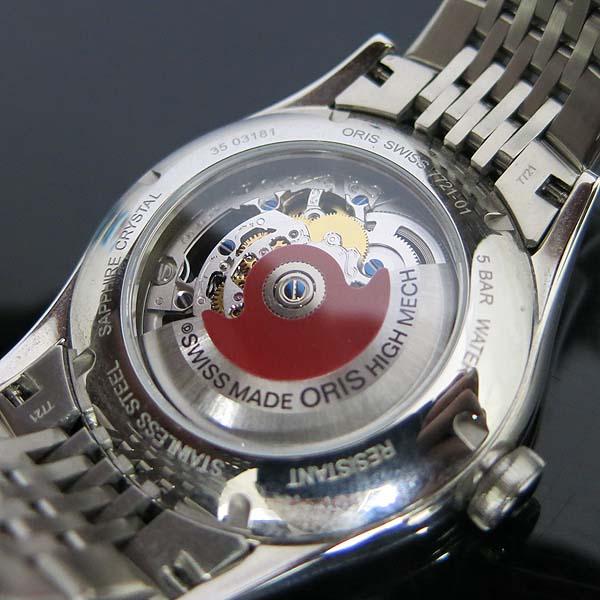 ORIS(오리스) 734 7721 ARTELIER(아뜰리에) 40MM 스켈레톤 오토매틱 스틸 남성용 시계 [동대문점] 이미지5 - 고이비토 중고명품