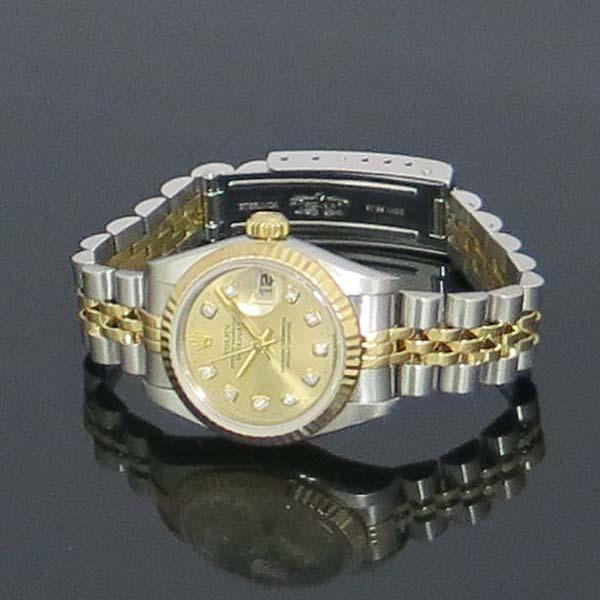 Rolex(로렉스) 79173 18K 콤비 DATEJUST(데이트저스트) 10포인트 다이아 여성용 시계 [동대문점] 이미지2 - 고이비토 중고명품