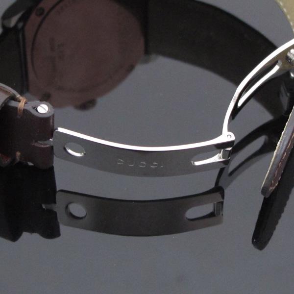 Gucci(구찌) YA101203 101.2 G 크로노 44mm 가죽밴드 남성용 시계 [대구반월당본점] 이미지3 - 고이비토 중고명품
