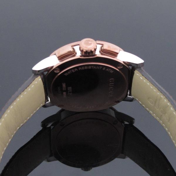 Gucci(구찌) YA101203 101.2 G 크로노 44mm 가죽밴드 남성용 시계 [대구반월당본점] 이미지4 - 고이비토 중고명품