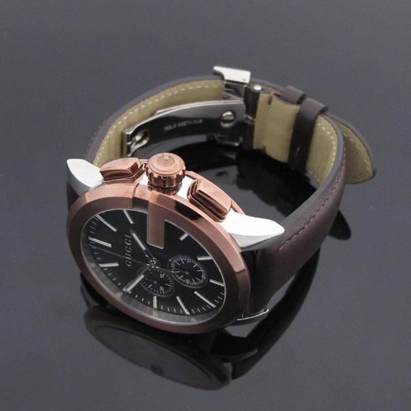 Gucci(구찌) YA101203 101.2 G 크로노 44mm 가죽밴드 남성용 시계 [대구반월당본점] 이미지5 - 고이비토 중고명품