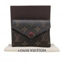Louis Vuitton(루이비통) M41938 모노그램 캔버스 빅토린 월릿 푸시아 컬러 반지갑 [인천점]