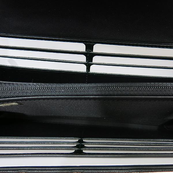 Chanel(샤넬) A84448Y83371 COCO 빈티지 로고 블랙 캐비어 스킨 장지갑 [인천점] 이미지6 - 고이비토 중고명품