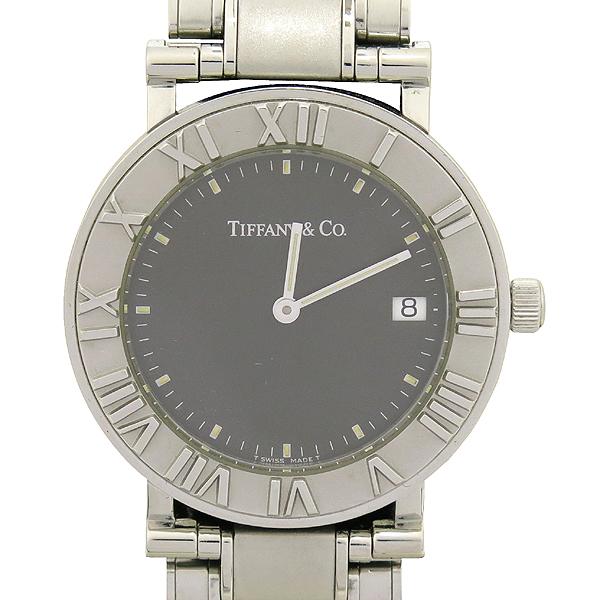 Tiffany(티파니) 아틀라스 원형 팬던트 스틸밴드 쿼츠 남성용 시계 [강남본점]