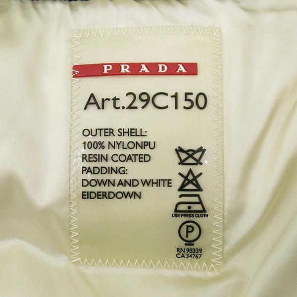 Prada(프라다) 블랙 컬러 구스다운 여성용 패딩 점퍼 [강남본점] 이미지4 - 고이비토 중고명품