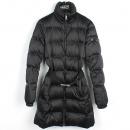 Prada(프라다) 블랙 컬러 구스다운 여성용 패딩 점퍼 [강남본점]