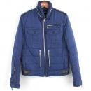 NEIL BARRETT(닐바렛) BSP35A1 블루 컬러 폴리에스터 혼방 남성용 패딩 자켓 [강남본점]