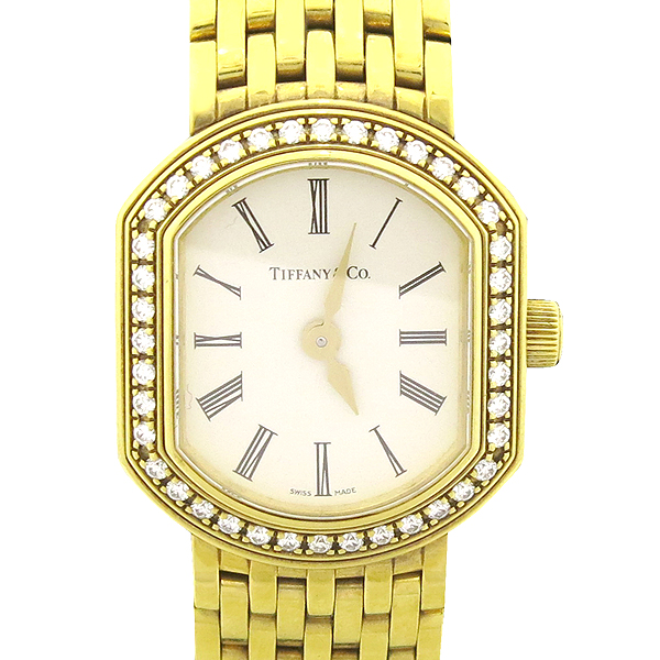 Tiffany(티파니) MARK 18K Y/G 금통 다이아 여성용 시계 [강남본점] 이미지2 - 고이비토 중고명품