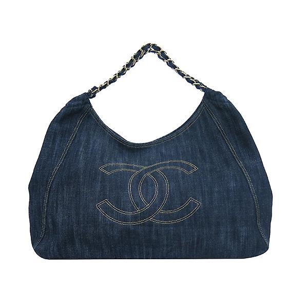 Chanel(샤넬) 크루즈컬렉션 데님 스트리치 스피릿 카바스 금장체인 숄더백 [부산센텀본점] 이미지2 - 고이비토 중고명품