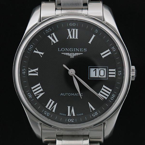 LONGINES(론진) L2.648.4.51.6 MASTER COLLECTION(마스터 콜렉션) BIG DATE 시스루백 스틸 오토매틱 남성용 시계 [인천점] 이미지2 - 고이비토 중고명품