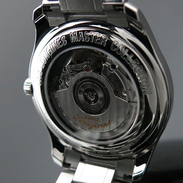 LONGINES(론진) L2.648.4.51.6 MASTER COLLECTION(마스터 콜렉션) BIG DATE 시스루백 스틸 오토매틱 남성용 시계 [인천점] 이미지6 - 고이비토 중고명품