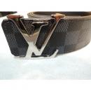 Louis Vuitton(루이비통) LV 이니셜 40MM  다미에 그라피트 벨트  남성용 벨트 [부산남포점]