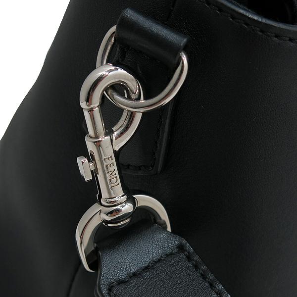 Fendi(펜디) 8BL124 블랙 레더 바이더웨이 토트백 + 숄더 스트랩 [인천점] 이미지4 - 고이비토 중고명품