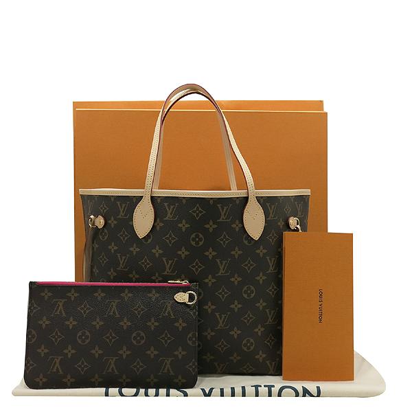Louis Vuitton(루이비통) M41178 모노그램 캔버스 신형 네버풀 MM 숄더백 + 보조파우치 [인천점]