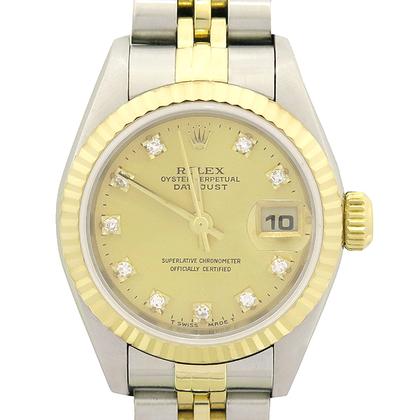 Rolex(로렉스) 79173 18K 콤비 DATEJUST(데이트저스트) 10포인트 에프터 다이아 여성용 시계 [강남본점] 이미지2 - 고이비토 중고명품