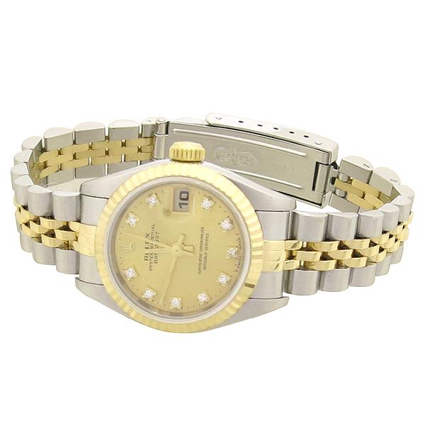 Rolex(로렉스) 79173 18K 콤비 DATEJUST(데이트저스트) 10포인트 에프터 다이아 여성용 시계 [강남본점] 이미지3 - 고이비토 중고명품