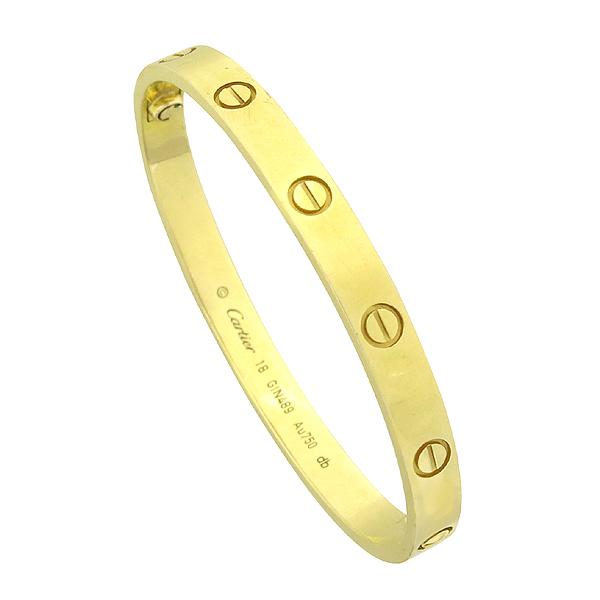 Cartier(까르띠에) B6035518 18K(750) 옐로우 골드 러브 팔찌 [강남본점]