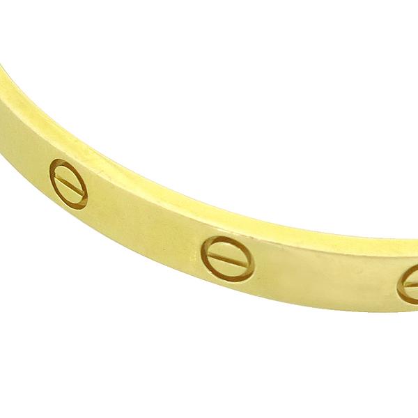 Cartier(까르띠에) B6035518 18K(750) 옐로우 골드 러브 팔찌 [강남본점] 이미지3 - 고이비토 중고명품