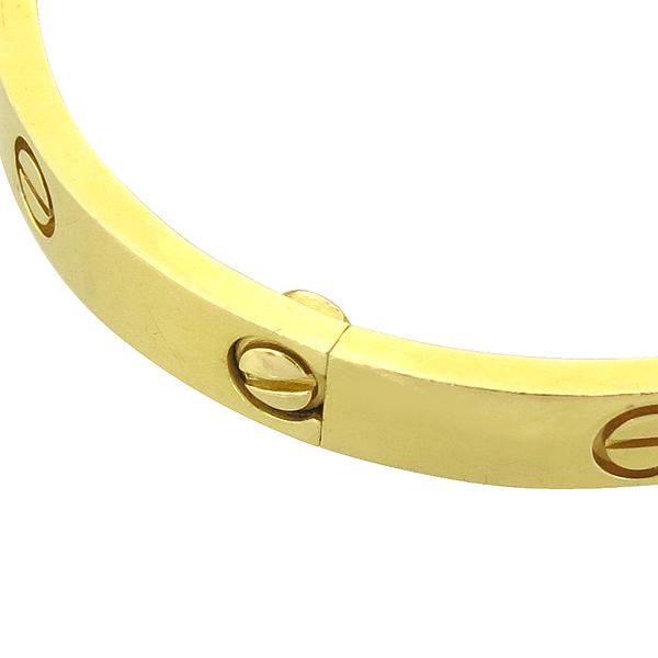 Cartier(까르띠에) B6035518 18K(750) 옐로우 골드 러브 팔찌 [강남본점] 이미지4 - 고이비토 중고명품