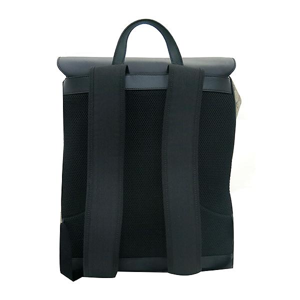Gucci(구찌) 406369 GG로고 PVC 슈프림 캔버스 블랙 레더 투 포켓 백팩 [부산센텀본점] 이미지3 - 고이비토 중고명품