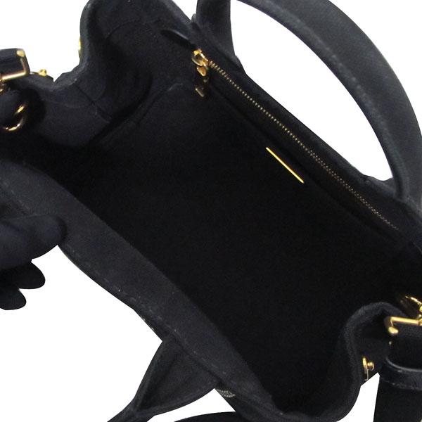 Prada(프라다) B2439G 블랙 NERO DENIM(데님) 토트백 + 숄더 스트랩 2way [대구반월당본점]