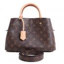 Louis Vuitton(루이비통) M41055 모노그램 캔버스 몽테뉴BB 토트백 + 숄더스트랩 2WAY[마산신세계점]W