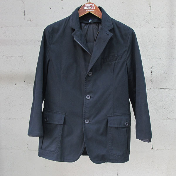 DKNY(도나카란) 면 100% 네이비 컬러 남성용 자켓 (내피 Set) [동대문점]