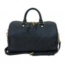 Louis Vuitton(루이비통) M42406 모노그램 앙프렝뜨 블랙 Earth 반둘리에 스피디 30 토트백 + 숄더스트랩 [부산센텀본점]