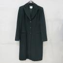 Armani COLLEZIONI(아르마니 꼴레지오니) 블랙 컬러 100% 캐시미어 여성용 롱 코트 [부산센텀본점]