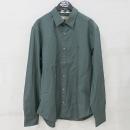 Burberry(버버리) 4068941 그린 컬러 면 혼방 남성용 셔츠 [부산센텀본점]