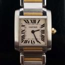 Cartier(까르띠에) W51007Q4 18K 콤비 탱크 S 사이즈 쿼츠 여성용 시계 [동대문점]